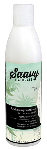 Saavy Naturals Bay Rum & Hemp Conditioner 236ML