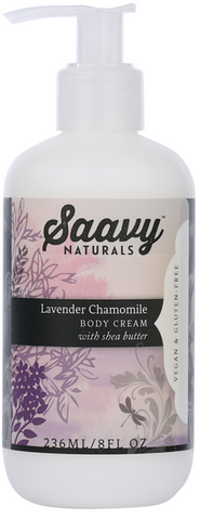 Saavy Lavender Chamomile Body Cream 236ML