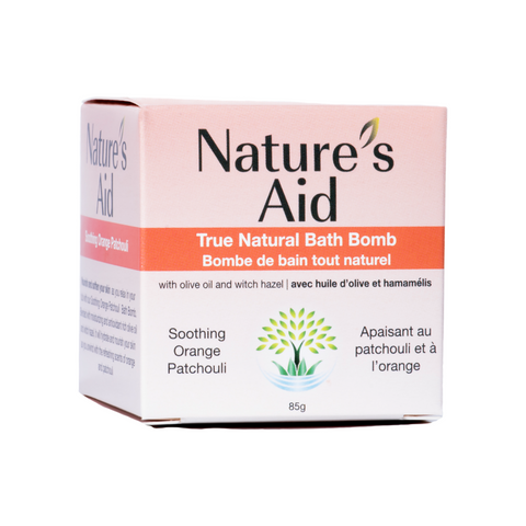 Nature's Aid Bath Bomb Soothing Orange Patchouli