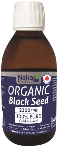 Naka Organic Black Seed Oil 300ML