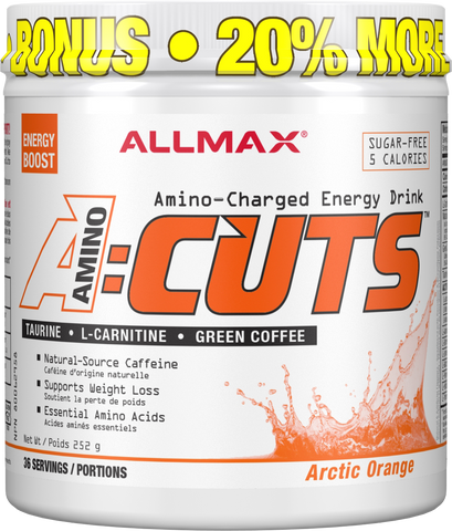 ALLMAX A:Cuts Artic Orange 252G Bonus