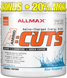 ALLMAX A:Cuts Blue Raspberry 252G Bonus