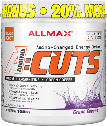 ALLMAX A:Cuts Grape 252G Bonus