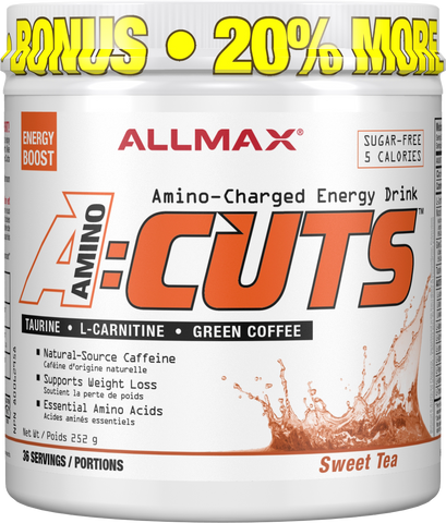 ALLMAX A:Cuts Sweet Tea 252G Bonus