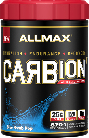 ALLMAX Carbion+ Blue Bomb 870G
