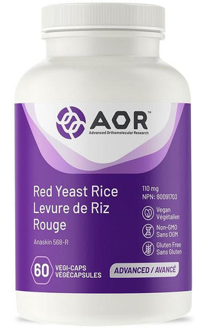 AOR Red Rice Yeast 30 V Cap
