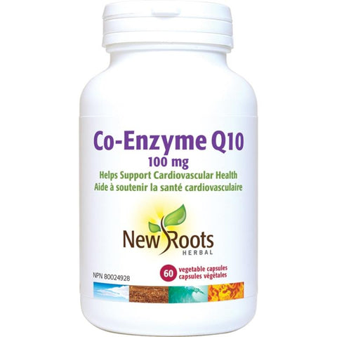 New Roots Co-Enzyme Q10 100MG 60 V Cap