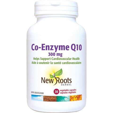 New Roots Co-Enzyme Q10 300MG 30 V Cap