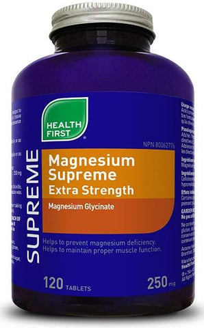 Health First Magnesium Supreme 120 Tab