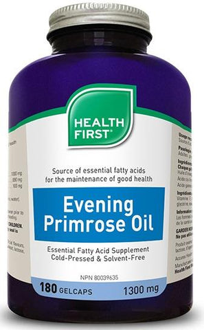 Health First Evening Primrose Oil 180 Softgels