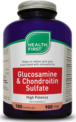 Health First Glucosamine& Chondroitin 180 Caps