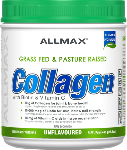 ALLMAX Collagen with Biotin 440G
