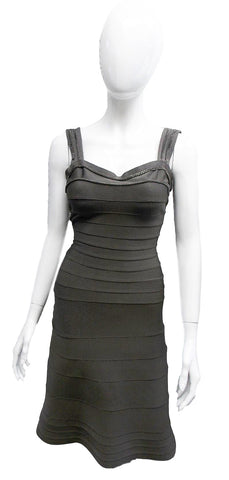 Herve Leger Bodycon Flared Dress