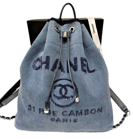 bcaca4bce5d2f Chanel Deauville Backpack. Chanel Deauville Backpack.   1