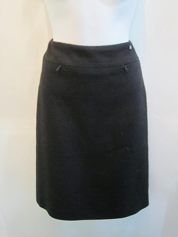 Chanel Black Tweed Skirt - Creme de la Creme Consigners: Pre Owned Handbags, Used Handbags, Luxury Consignment
