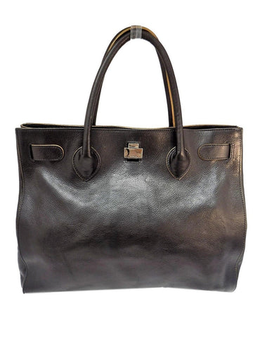 Furla Leather Tote Bag - Creme de la Creme Consigners: Pre Owned Handbags, Used Handbags, Luxury Consignment