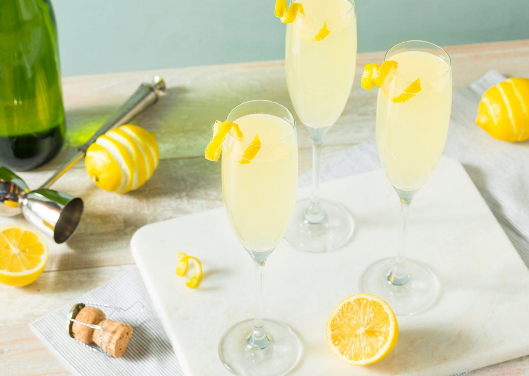 The French 75 | SplitsDrinks