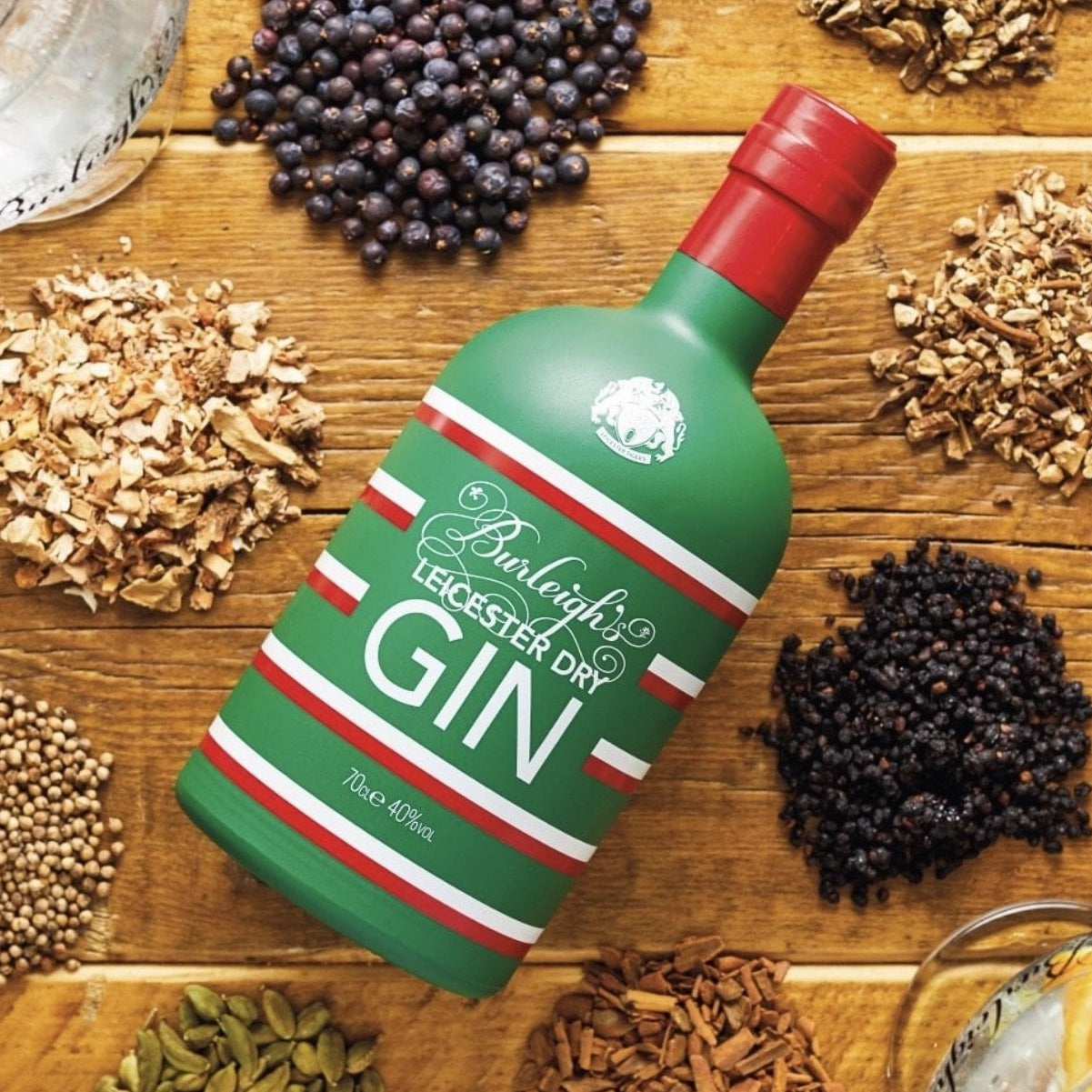 Burleigh's Leicester Tigers Dry Gin - SplitsDrinks