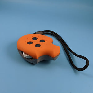Puck, Puck, Bruce! Remote Control -  Limited Edition Orange/Grey