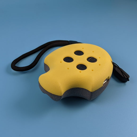 Puck, Puck, Bruce! Remote Control - Limited Edition Yellow/Grey