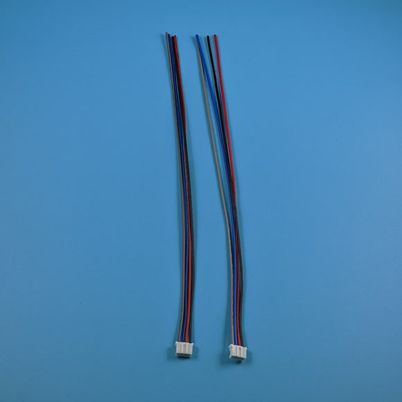4-Pin JST 2.0mm Pitch - 200mm Cable Pigtail (Pair)