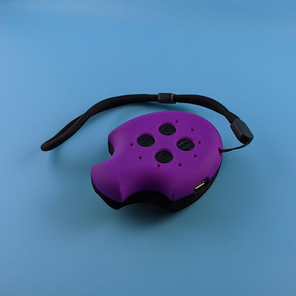 Puck, Puck, Bruce! Remote Control - Limited Edition Purple/Black