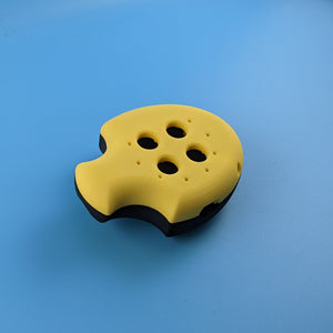 Puck, Puck, Bruce! Mod Shell Kit - Limited Edition Yellow/Black