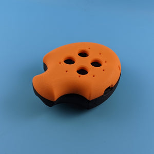 Puck, Puck, Bruce! Mod Shell Kit - Limited Edition Orange/Black