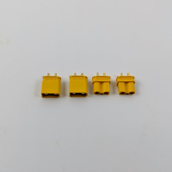 Amass XT30U Connector Set (2x M/F Sets)
