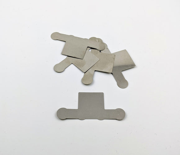 0.2mm Pure Nickel - 4P 18650 P-Group Tabs