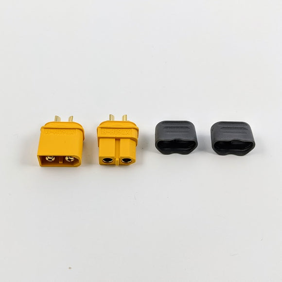 Amass XT60H M/F Connector Set (Yellow)