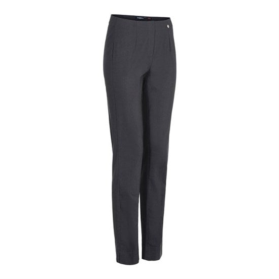 CHARCOAL GREY MARIE FULL LENGTH TROUSERS