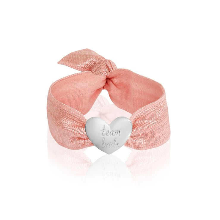 HAPPY EVER AFTER TEAM BRIDE HAIR BAND