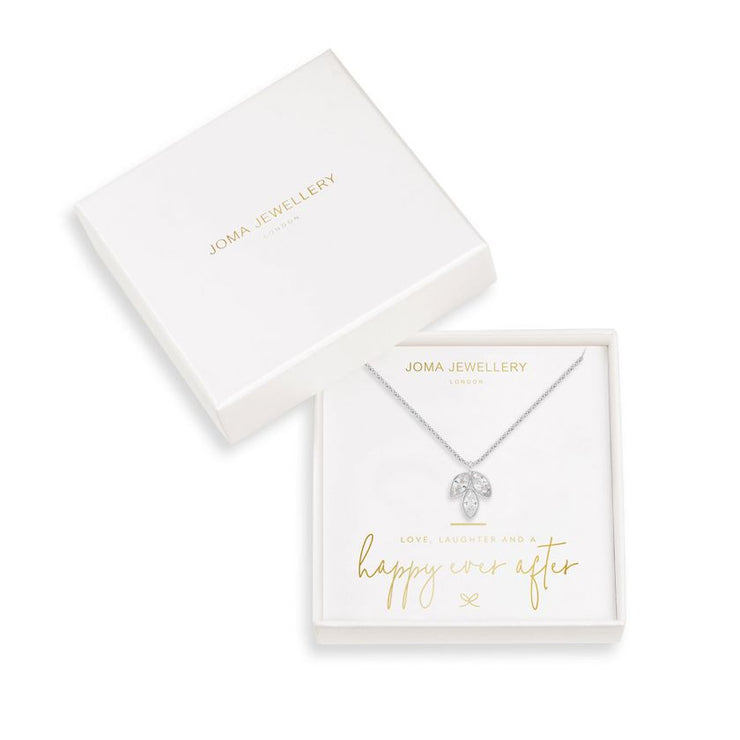 JOMA JEWELLERY | HAPPY EVER AFTER BOXED LEAF NECKLACE