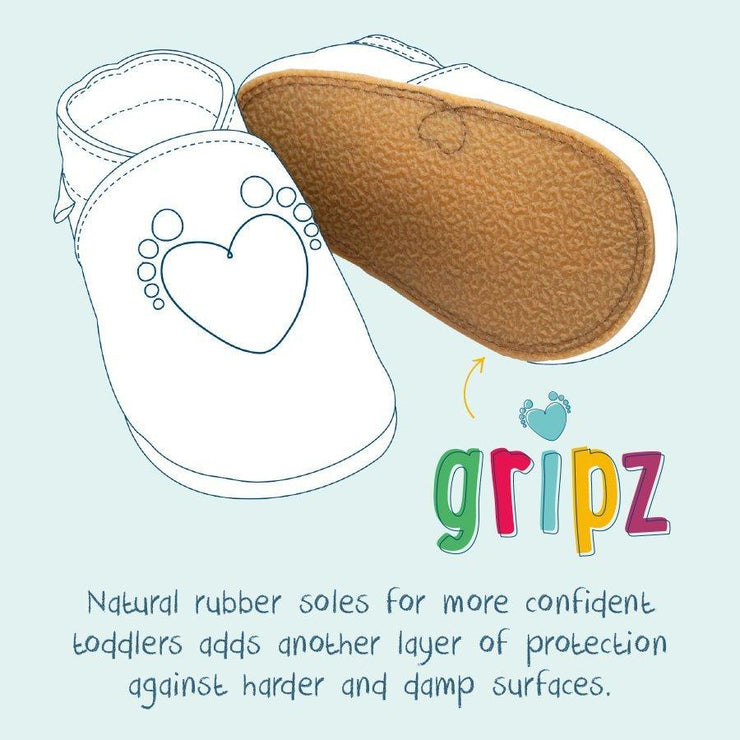 PLAIN TAN BABY SHOES
