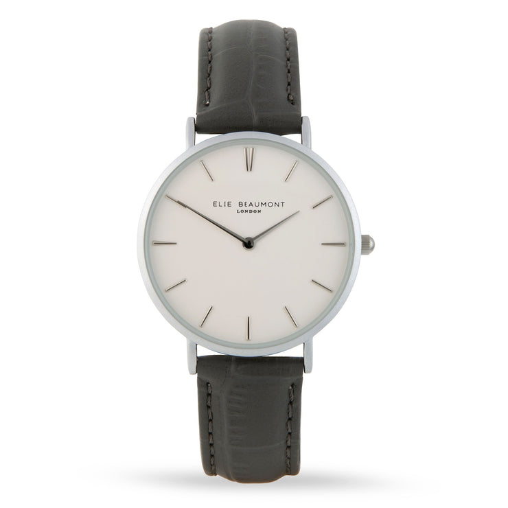 ELIE BEAUMONT | SLOANE GREY CROC WATCH