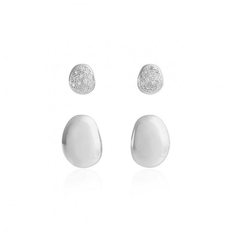 PERFECT PEBBLE STUD EARRINGS