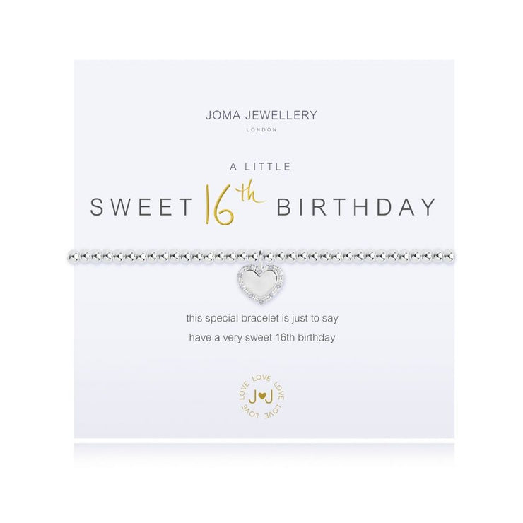 JOMA JEWELLERY | A LITTLE SWEET 16TH BIRTHDAY BRACELET