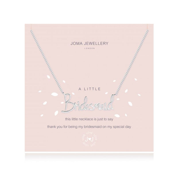 JOMA JEWELLERY | A LITTLE BRIDESMAID NECKLACE