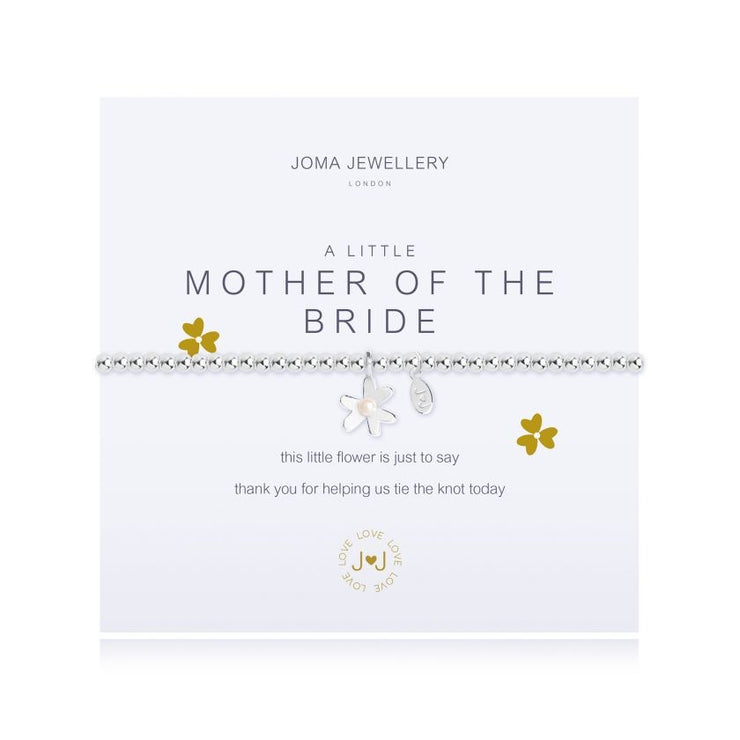 JOMA JEWELLERY | A LITTLE MOTHER OF THE BRIDE BRACELET
