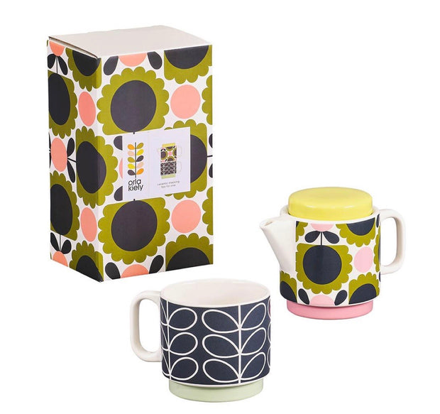 ORLA KIELY | SCALLOP FLOWER FOREST TEA FOR ONE