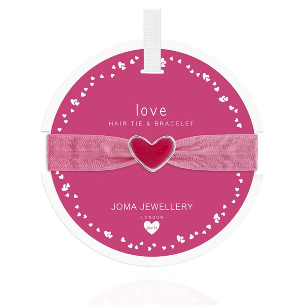 JOMA GIRLS | LOVE HAIR TIE & BRACELET