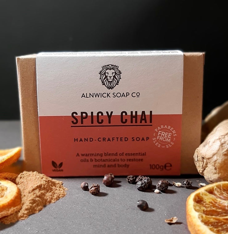 SPICY CHAI HAND CRAFTED SOAP
