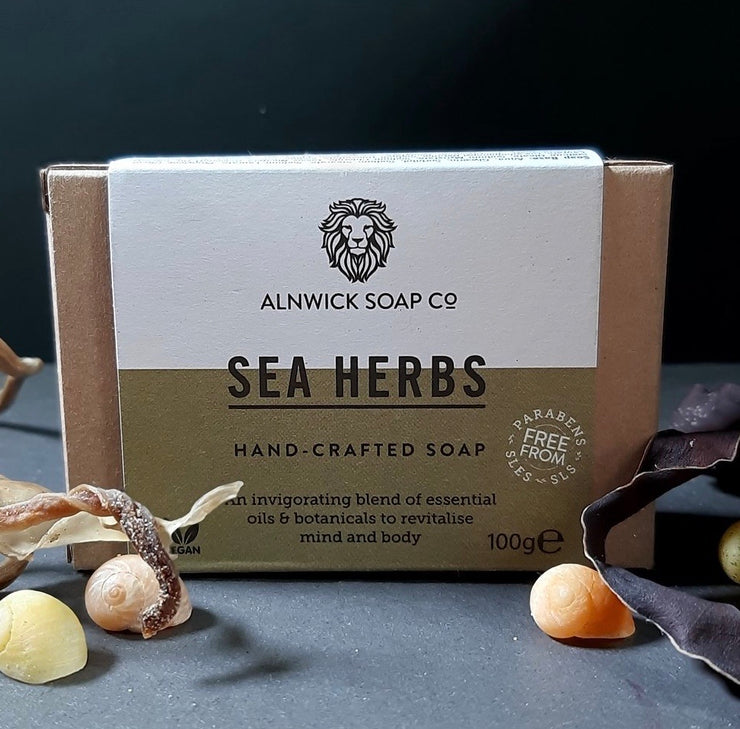 SEA HERBS HAND CRAFTED SOAP