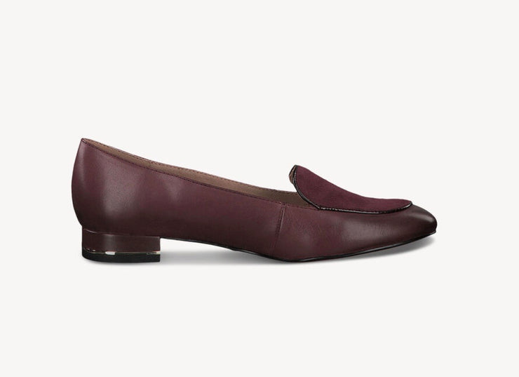 TAMARIS | MERLOT LOAFERS