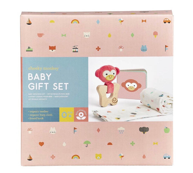 PETIT COLLAGE | LITTLE MONKEY GIFT SET