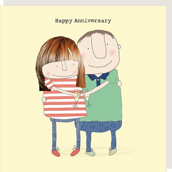 ROSIE MADE A THING | HAPPY ANNIVERSARY YOUNG CARD