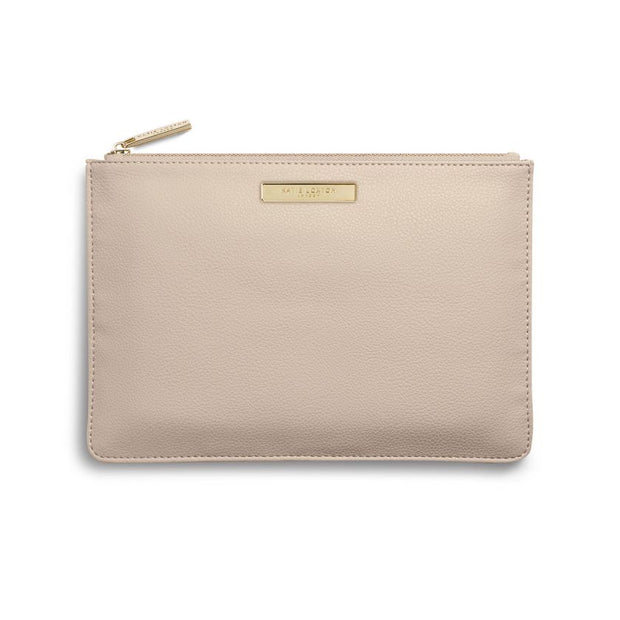 KATIE LOXTON | NUDE SOFT PEBBLE POUCH
