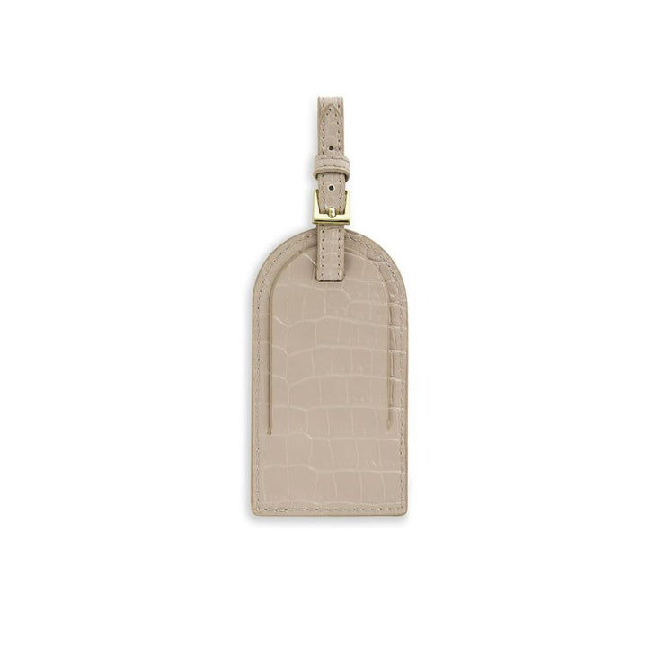 OYSTER GREY CELINE LUGGAGE TAG