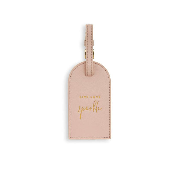 KATIE LOXTON | LIVE LOVE SPARKLE LUGGAGE TAG